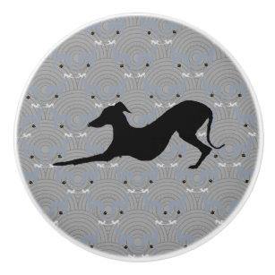Charmant Italian Greyhound Dog Cabinet Knob Pull Iggy
