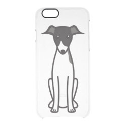 Uncommon iPhone 6 Clearly™ Deflector Case with Greyhound Phone Cases design