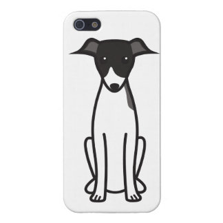 Italian Greyhound Dog Cartoon Cover For iPhone SE/5/5s