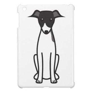 Italian Greyhound Dog Cartoon iPad Mini Covers