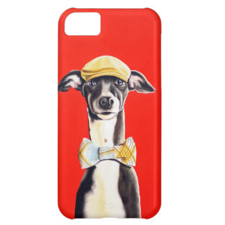 Italian Greyhound Dog iPhone Cover - Harry