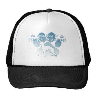 Italian Greyhound Granddog Hat