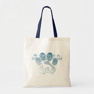 Italian Greyhound Granddog Tote Bag
