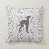 Italian Greyhound Home Decor Pillow Silly Iggy