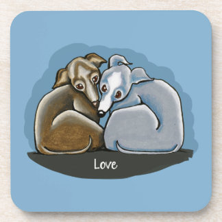 Italian Greyhound Huddle Coaster