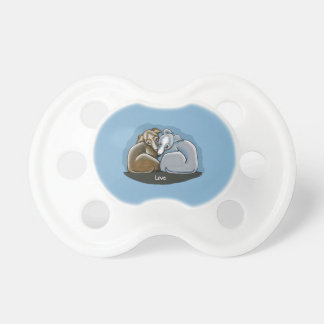 Italian Greyhound Huddle Pacifier