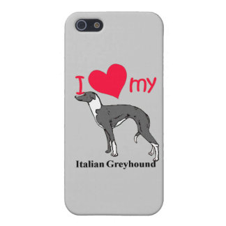 Italian Greyhound (Iggy) iPhone SE/5/5s Cover