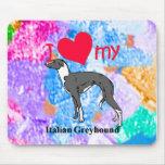Italian Greyhound (Iggy) Mouse Pad