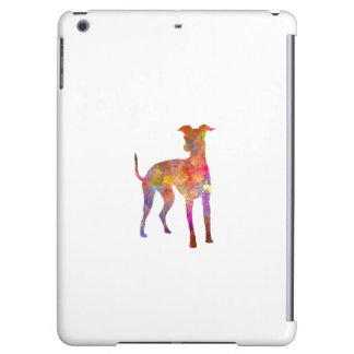 Italian Greyhound in watercolor iPad Air Covers