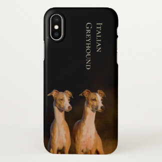 Italian Greyhound iPhone X Cover