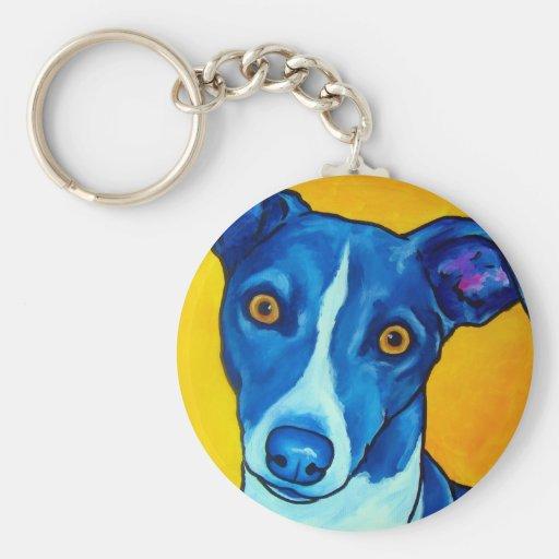 Italian Greyhound Key Chains