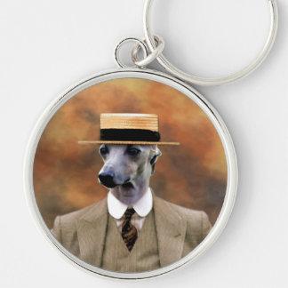 Italian Greyhound Keychain Nobility Dogs Gift