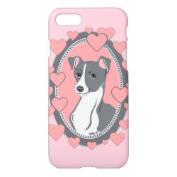 iPhone 7 Case with Greyhound Phone Cases design