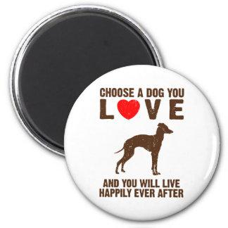 Italian Greyhound Fridge Magnet