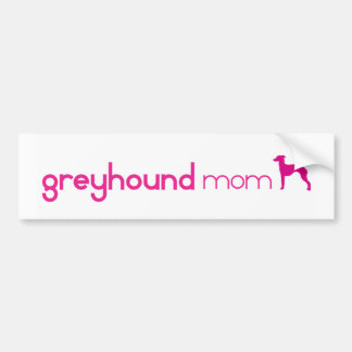 Italian Greyhound Mom Bumper Sticker