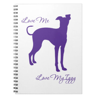 Italian Greyhound Notebook