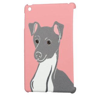 Italian Greyhound Pink iPad Case