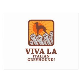 Italian Greyhound Postcard