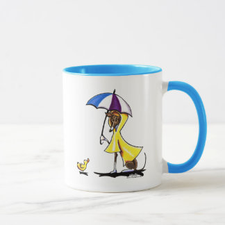 Italian Greyhound Raincoat Mug