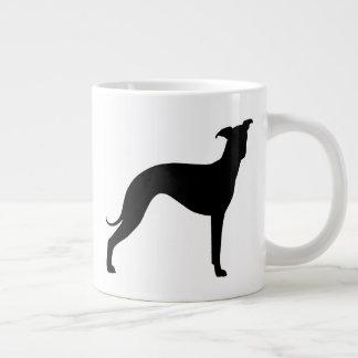 Italian Greyhound Silhouettes Giant Coffee Mug