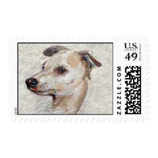 Italian Greyhound Stamp