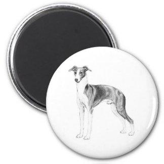Italian Greyhound Style Magnet