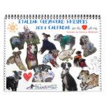 Italian Greyhound Whispers 2014 Calendar