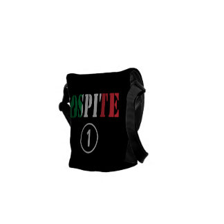 Italian Guests : Ospite Numero Uno Courier Bags