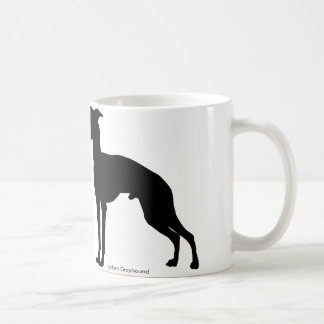 Italian gureihaundomagukatsupu Italian Greyhound Coffee Mug