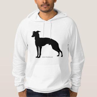 Italian gureihaundopaka Italian Greyhound hoodi Hoodie