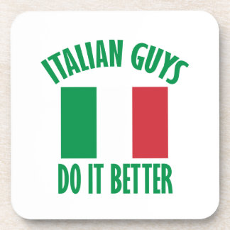 Italian guys DESIGNS Drink Coaster
