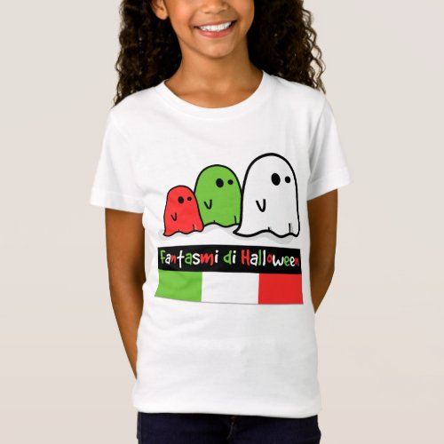 Italian Halloween Ghosts, Fantasmi di Halloween T-Shirt