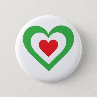 Italian Heart Button