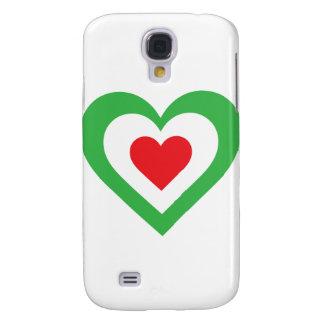 Italian Heart Samsung Galaxy S4 Case