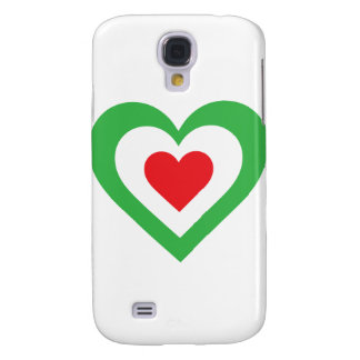 Italian Heart Samsung S4 Case