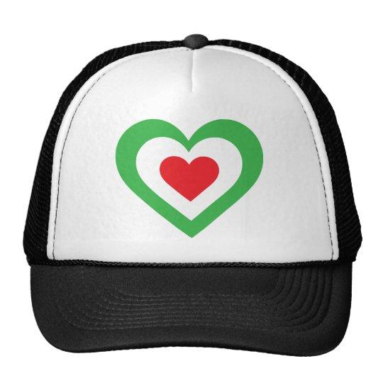 Italian Heart Trucker Hat