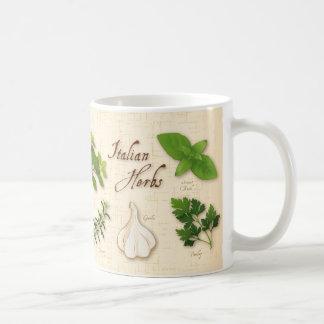 Italian Herbs, Basil, Oregano, Parsley, Garlic Coffee Mug