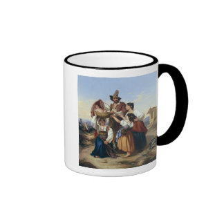 Italian Herdsman, 1835 Ringer Coffee Mug