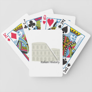 Italian History Bicycle Playing Cards