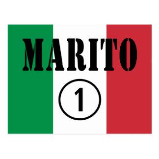 Italian Husbands : Marito Numero Uno Postcard