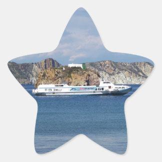 Italian Hydrofoil Star Sticker