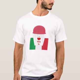 Italian Ice Cup colorful Italian Ice shirt flag