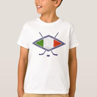 Italian Ice Hockey Logo T-Shirt