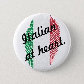 Italian in the heart - Italian RK heart button