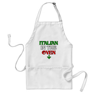 Italian In The Oven Adult Apron