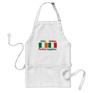 Italian Irish - Perfect Together! Adult Apron