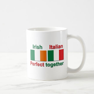 Italian Irish - Perfect Together! Classic White Coffee Mug
