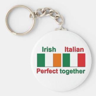 Italian Irish - Perfect Together! Keychain