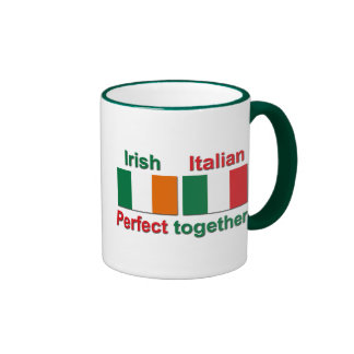 Italian Irish - Perfect Together! Ringer Mug