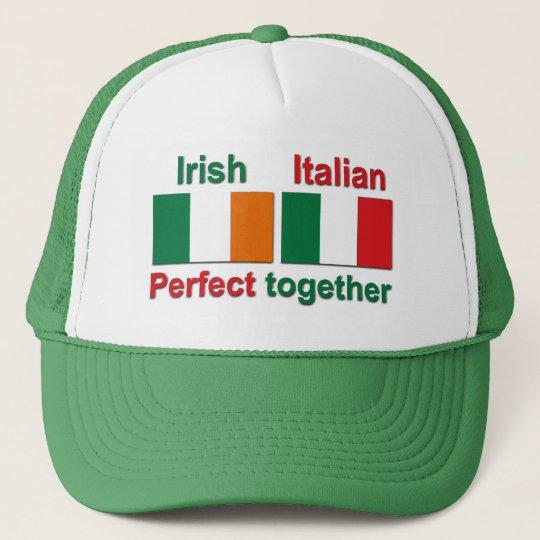 Italian Irish - Perfect Together! Trucker Hat